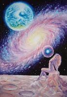 The cosmic Eve by CORinAZONe