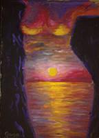 Inner sunset by CORinAZONe