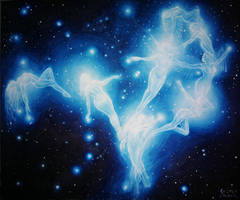 The legend of the Pleiades by CORinAZONe