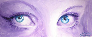 Blue eyes by CORinAZONe