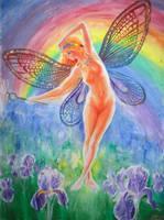 Iris the goddess of the rainbow by CORinAZONe
