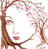 portrait of spring by CORinAZONe