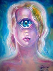 Portrait of a cyclop by CORinAZONe