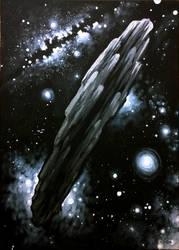 Oumuamua by CORinAZONe