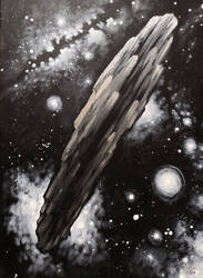The asteroid Oumuamua by CORinAZONe