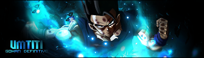 Gohan definitivo blue version by Tch023