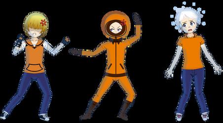 Orange Overprotective Opportune Overkillers by SpyFreakAR15
