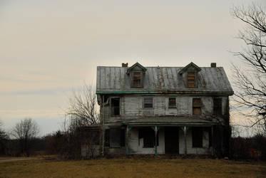Abandoned house by KirbotC