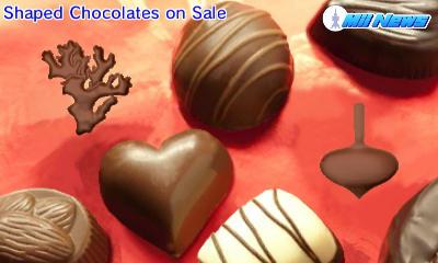 Shaped Chocolates by AnnaTheWonderGirl01