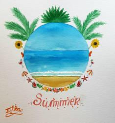 Summer time by Eif-ka