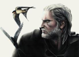 Hunting Swallows by Karalia-M