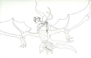 Orta and The Dragon by hsudolphin
