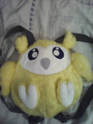 Yellow Owl Backpack by NastyEann