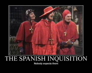 Motivator Spanish Inquisition by Mathan552