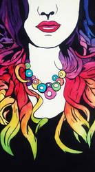 Aime moi avec toutes mes couleurs by M3Gane
