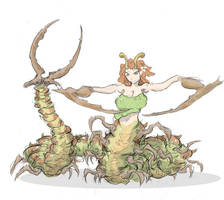 Centipede by uberis