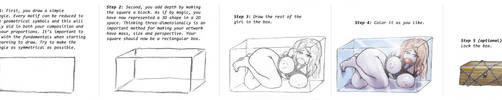 Tutorial: How to draw a girl by uberis
