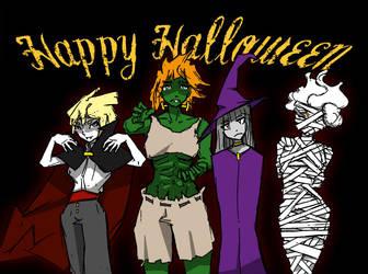 Leviathans Halloween by uberis