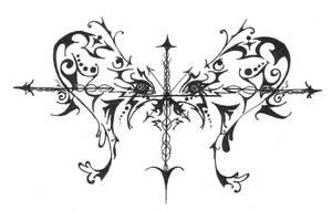 Leslie's tatoo 1, fanart by GirlieGirlie