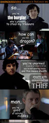 Oakencrossover #14: Sherlock Holmes BBC - pt. 1 by PeckishOwl