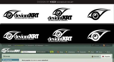 deviantart logo Creativity eye by kiedi