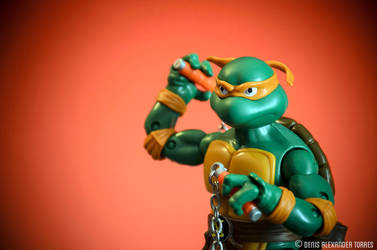 Michelangelo - Teenage Mutant Ninja Turtles by torreoso