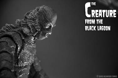 Creature From The Black Lagoon by torreoso