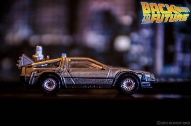 Time Machine Mr. Fusion - Delorean by torreoso
