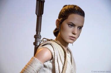 Rey - Star Wars The Force Awakens by torreoso