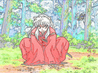 Inuyasha sit by Tom345