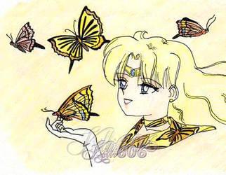 Sailor Cronus-Poseidon-Butterfly Fuku by Kitti606