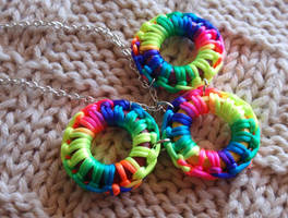 Rainbow Necklace by JEricaM