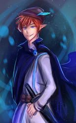 Blue Robin by Eraphon