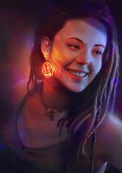 Portrait by Rajoviarbu