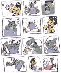 Fuzzy Feud Pg. 1 by ShoJoJim