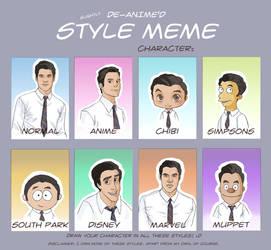 Blaine Anderson - Style Meme by yu-oka