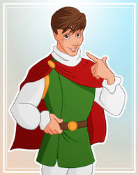 Actual Disney Prince Thomas Sanders by yu-oka