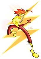 Kid Flash by Tigerhawk01