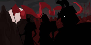 Samurais in Shadow by Tigerhawk01