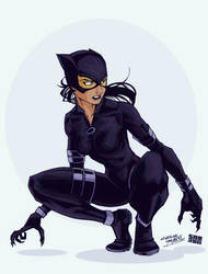 Notorious Catwoman by Tigerhawk01