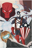Captain America Poster 2 by Tigerhawk01