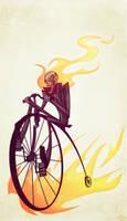 Old Timey Rider by Tigerhawk01