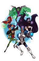 Teen Titans by Tigerhawk01