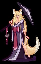 Kitsune Concept by Tigerhawk01