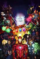 Avengers Infinity War by Tigerhawk01