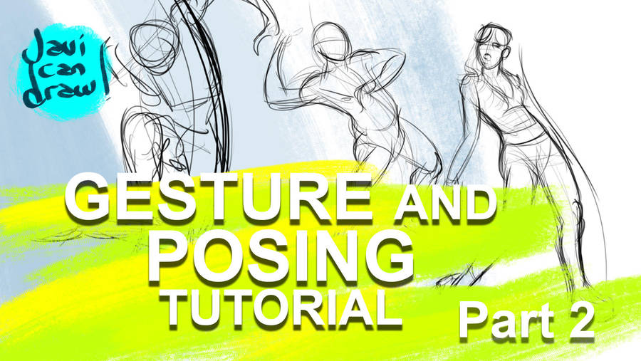 Gesture Drawing and Character Pose tutorial by javicandraw