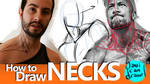 HOW TO DRAW NECKS - A Youtube Tutorial by javicandraw