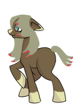 Earth Pony Trade for @GlitteryPony by KitlynSolstice