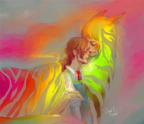 My rainbow by BladMoran
