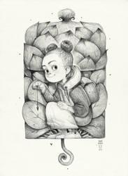 Sketchtober | 008 by BladMoran